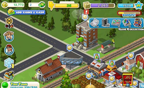 Cityville, Social game, online player, online game