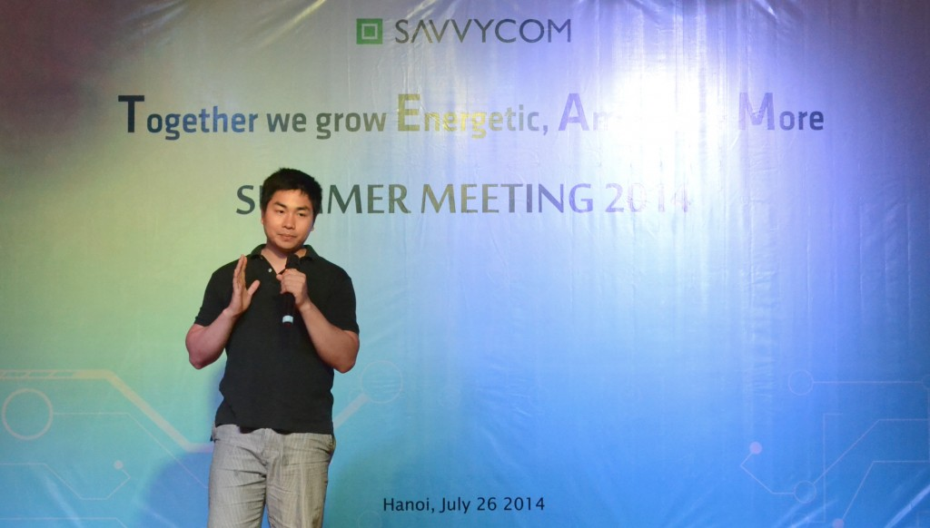 Mr Patrick Nguyen - Representative for Savvycom US office is sharing his experiences