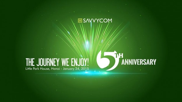 Savvycom celebrates 5th anniversary - The Journey we enjoy!
