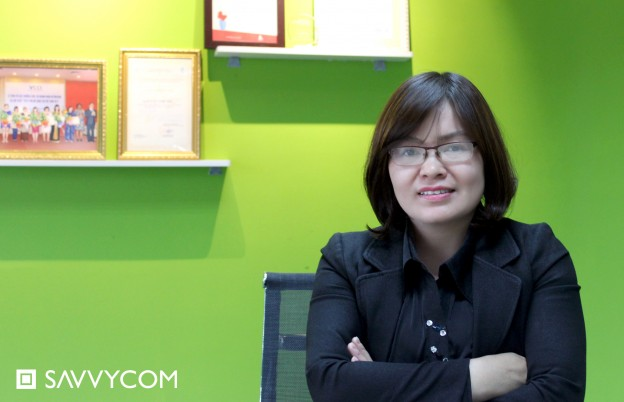 Mrs Hang in Savvycom Officer