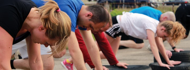 Build communities of individuals with similar fitness interests