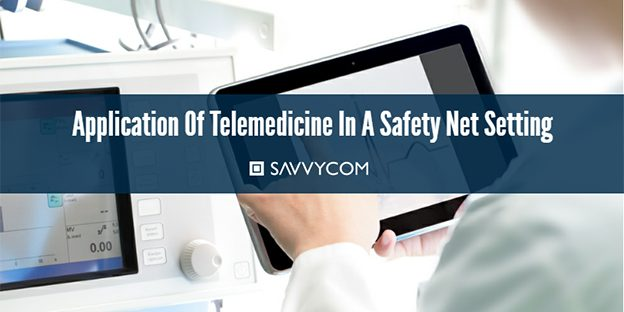 What are the effects of telemedicine in a safety net setting