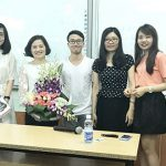 Savvycom CEO's Sharing with Students at National Economics University