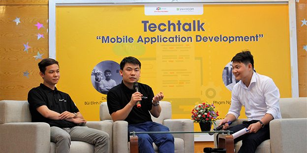 Mobile application development , a topic in tech talks
