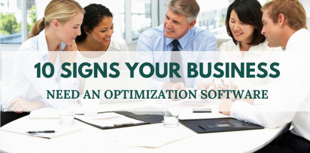 Business optimization software