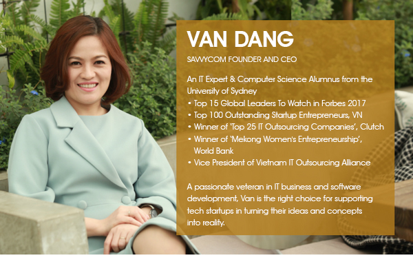 Ms. Van Dang - Savvycom Founder & CEO