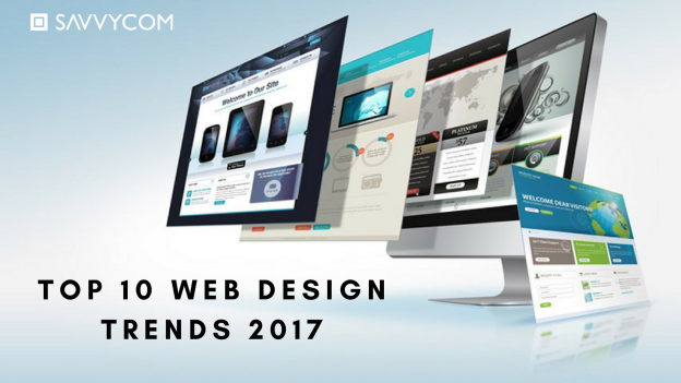 web design trends 2017, top 10 web design trends