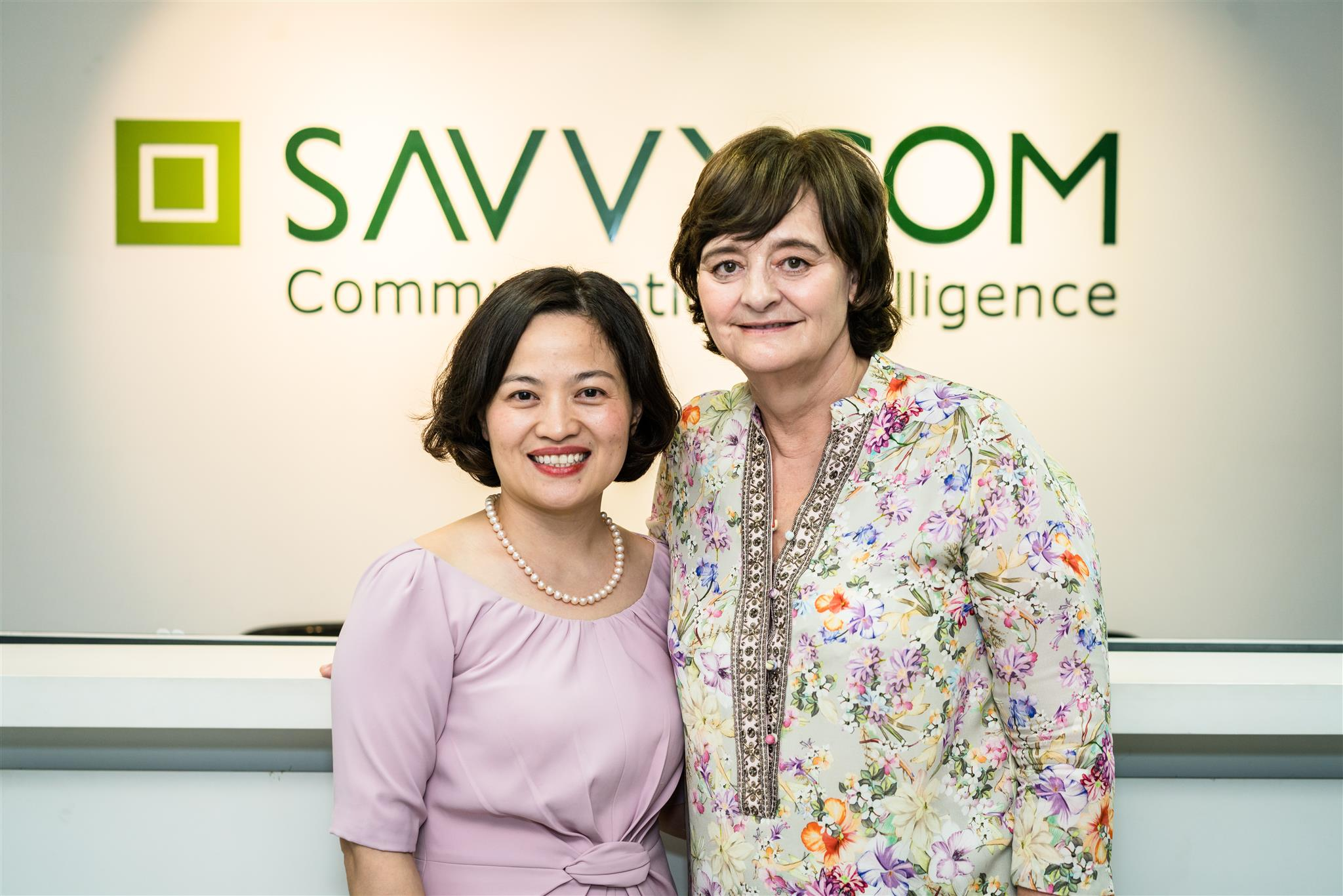 Welcoming Cherie Blair Foundation for Women to Savvycom