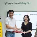 Savvycom and TomoChain team up in a strategic worldwide partnership