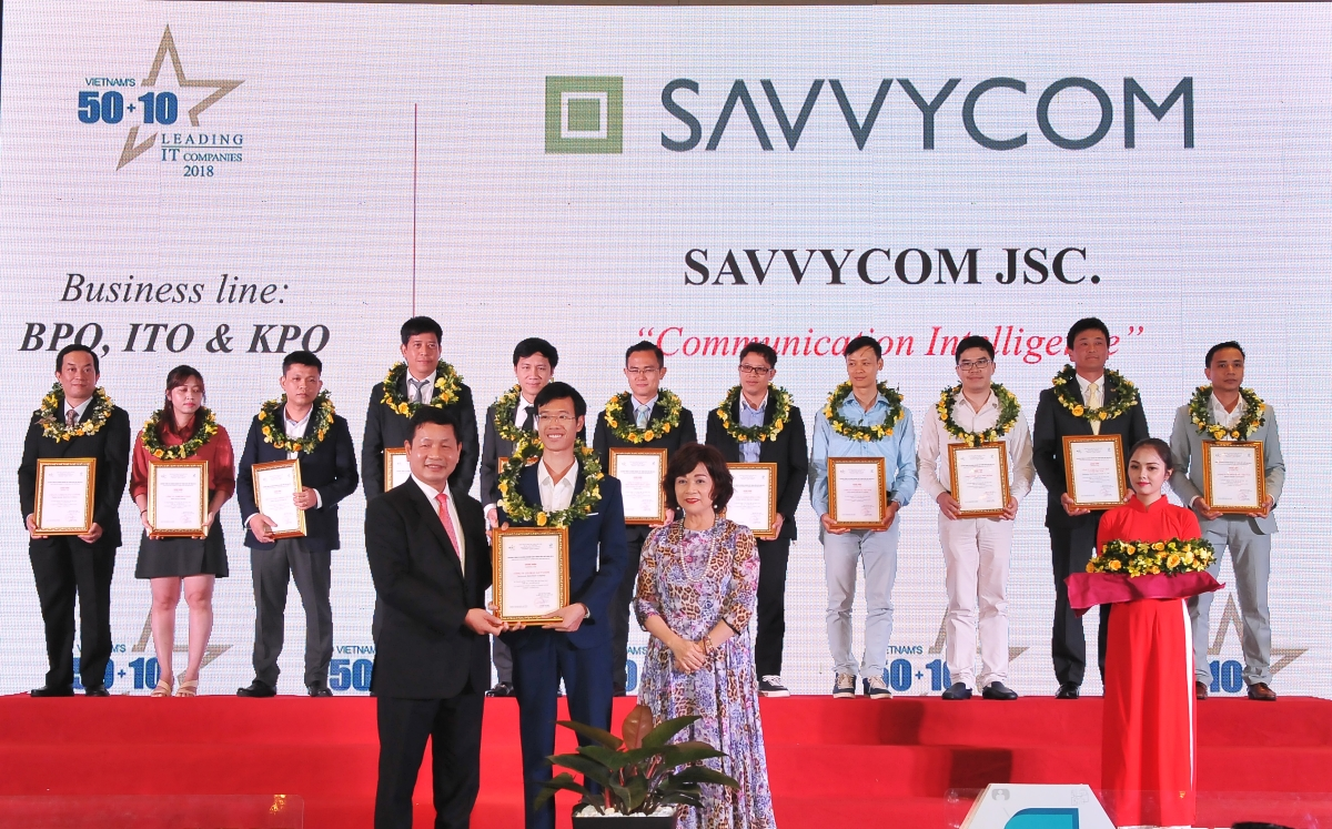 Savvycom, top 50 leading it companies, top it companies 2018