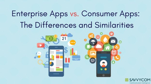consumer apps and enterprise apps