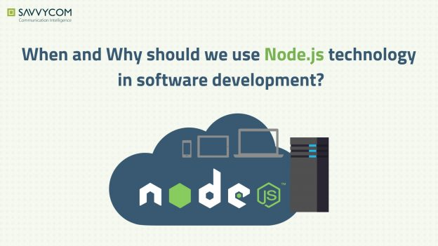 node.js technology for software development reasons